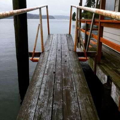 Wood - Material Water Pier Railing Day Sea Jetty Tranquil Scene Nature No People Tranquility Wood Paneling Outdoors Scenics Sky Close-up