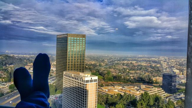 I woke up to this beautiful site this morning. Travel L.A Hollywood Samsunggalaxynote4