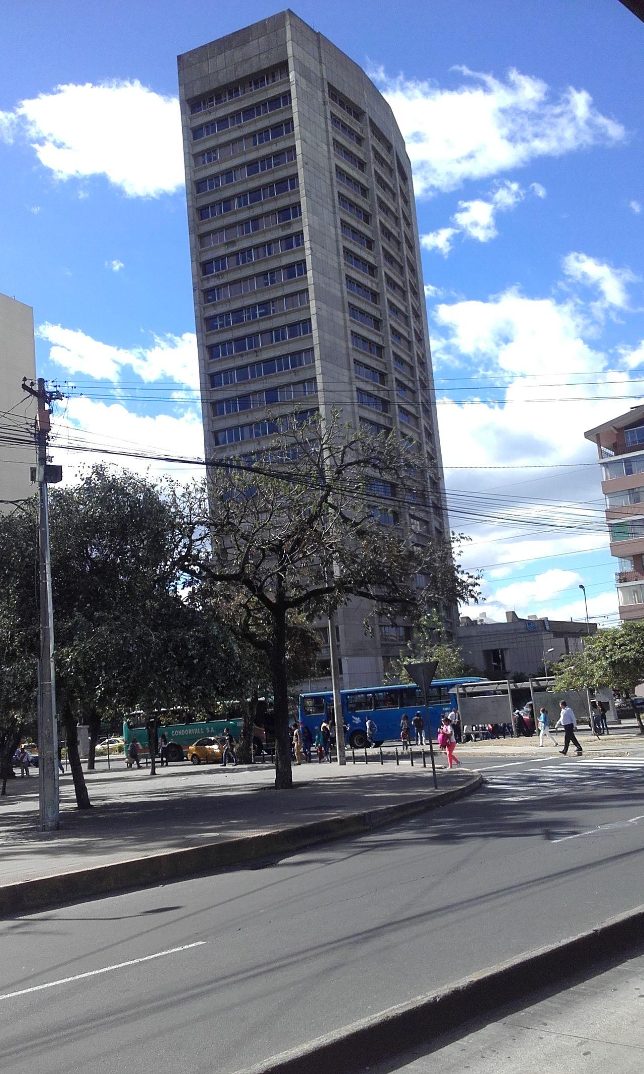 Building And Sky Building Quito Ecuador Quito Sky