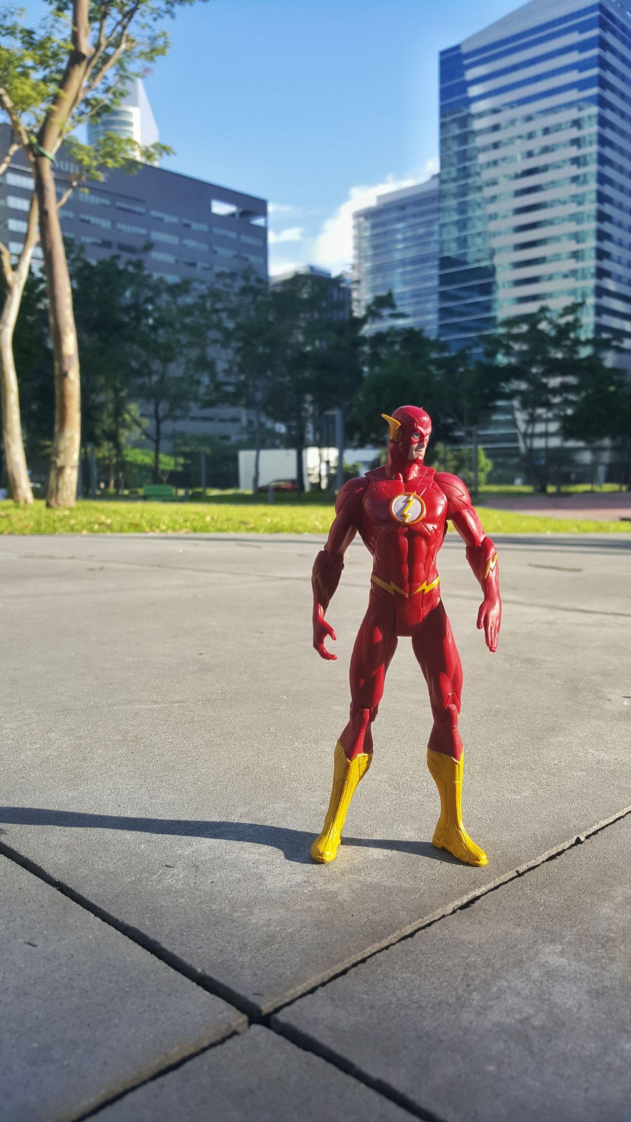 Speedster in the city EyeEm Gallery EyeEm Best Shots Toystory Toys4Me Justice League EyeEmBestPics Toyphotography Toy Photography Eyeem Philippines EyeEm Phillipines