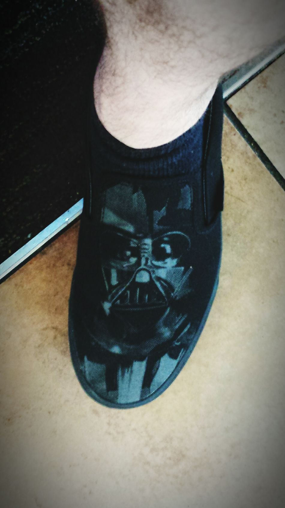 I really want Darth Vader's theme music to play when I walk now.