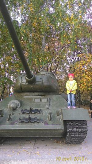 дочка на Т-34 , факел