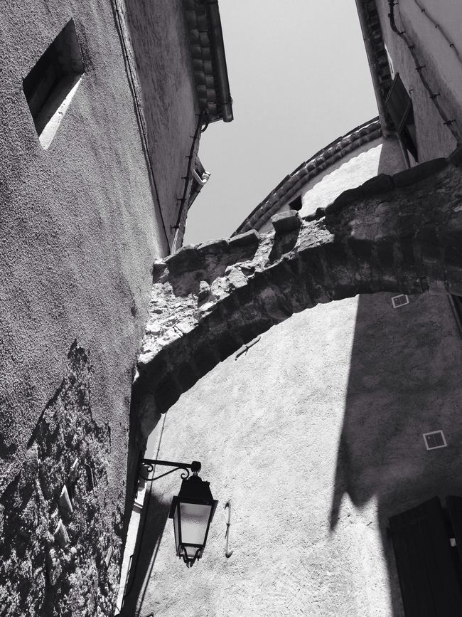 Blackandwhite village wall Shades Of Grey