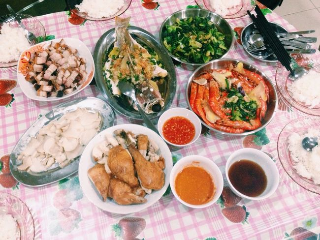 Welcome CNY❤️ a brand new year, brand new start? wish everyone healthy and happy all de time? Cnyeve Reuniondinner Family Love  Lovelife Feastoftheday
