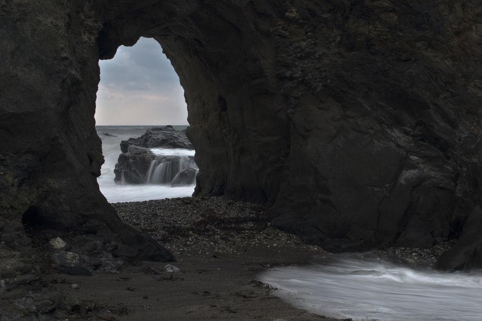 Arcos De Piedra Formacion Natural Largaexposicion Mar Natura Naturaleza Salvaje Nature Rocas Sedas