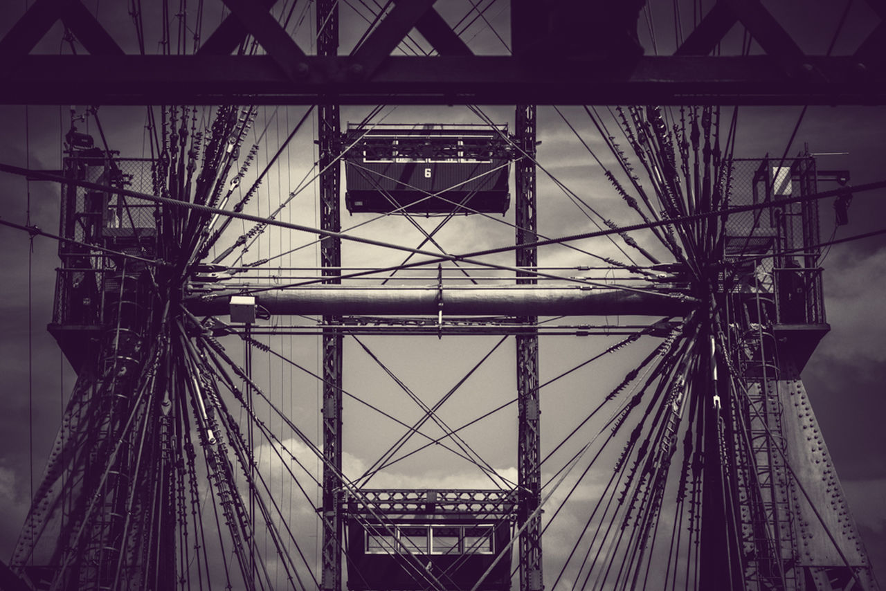 """Welcome to the machine"" // by Alex Cruceru Vienna Praterstern Metal Monochrome ©Alex Cruceru - never use my photos without my permission"