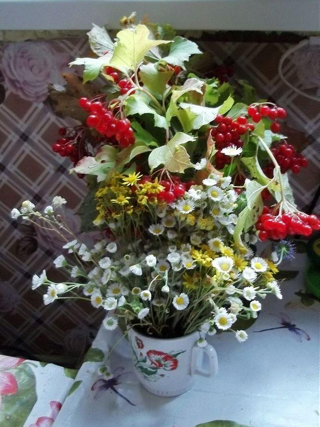 Flowers Bouquet Early Fall
