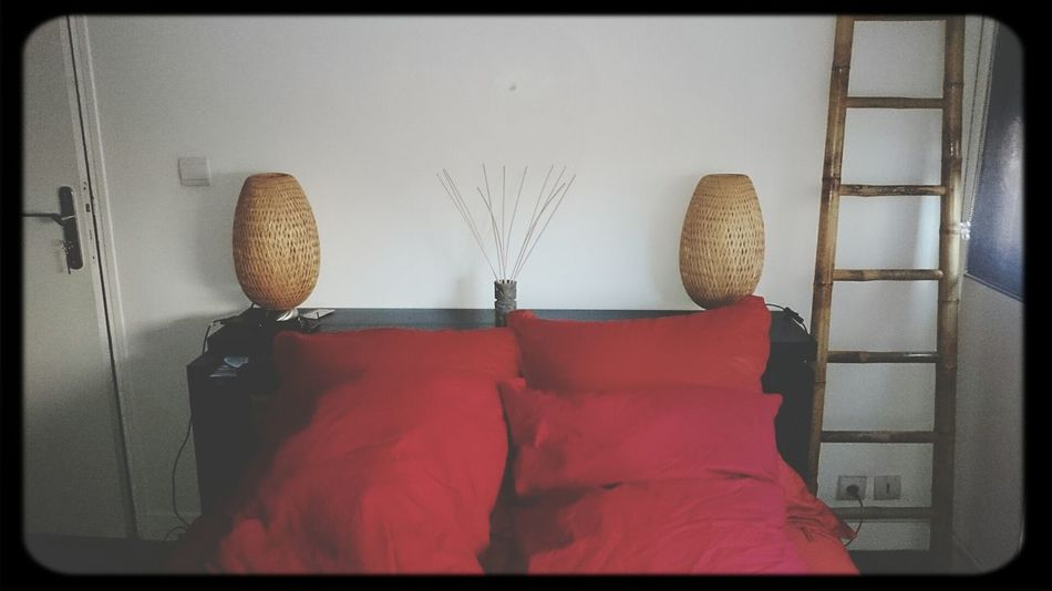 My Room At Home Red Pillow Love Tiki
