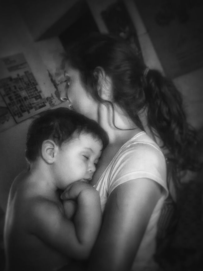 Women Who Inspire You Mather Mather And Children Mather&baby Love ♥ Black And White Black & White Blackandwhite Photography Women