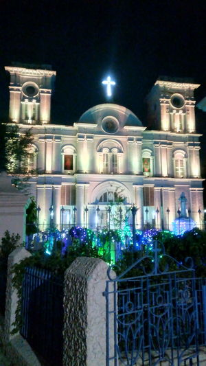 Night Christmas Christmas Decoration Outdoors