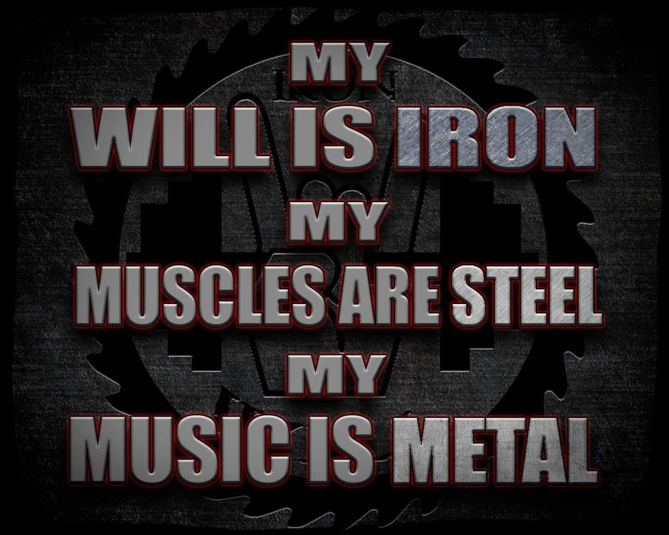 Iron Will Motivation Bodybuilding Inspiration Fitness Fitness Training Metal
