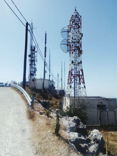 Highestpoint Technology Antenna - Aerial Communication Sky Mountain