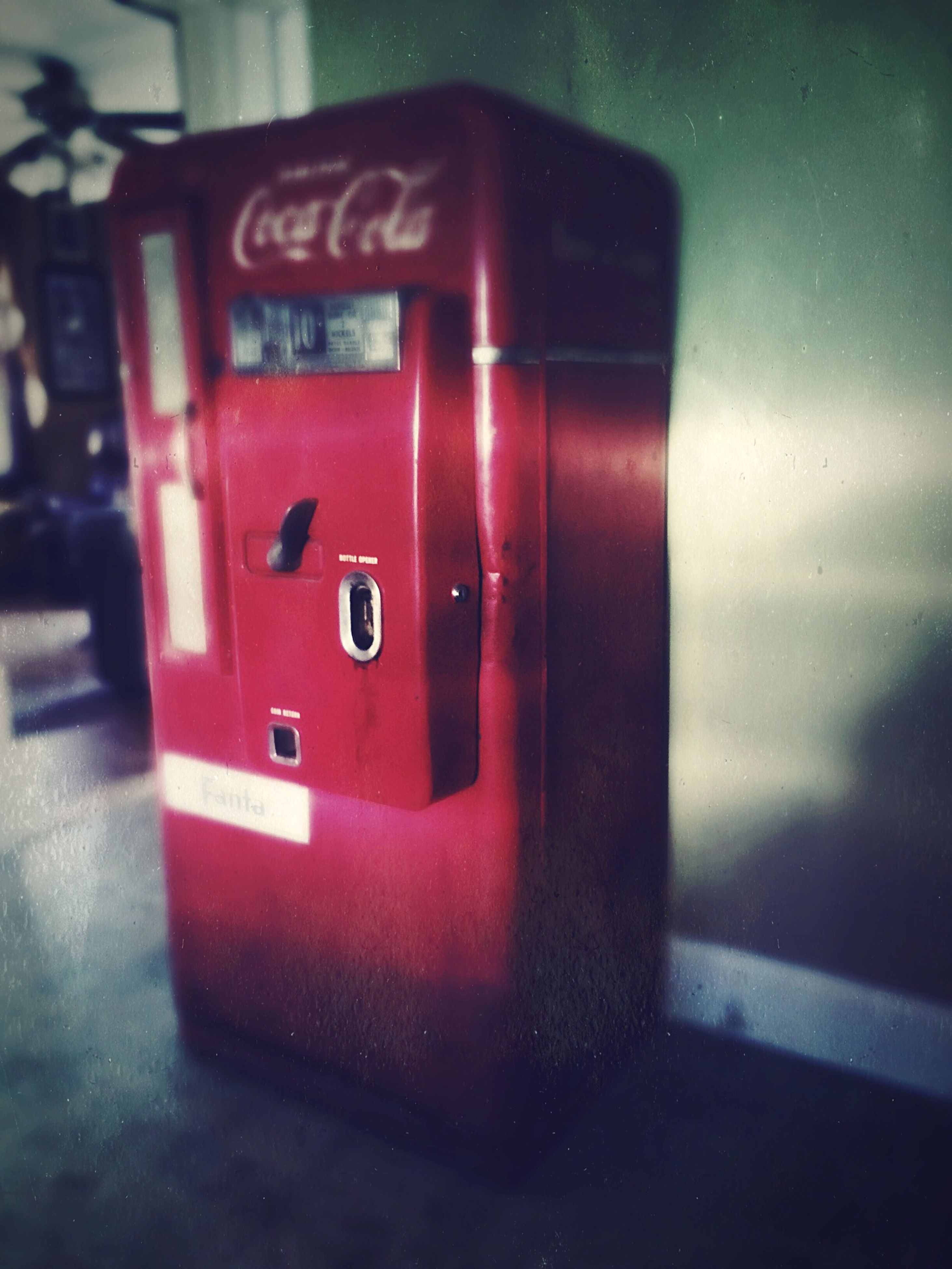 red, indoors, close-up, door, wall - building feature, illuminated, no people, single object, still life, technology, metal, closed, electricity, safety, protection, security, wall, focus on foreground, communication, home interior