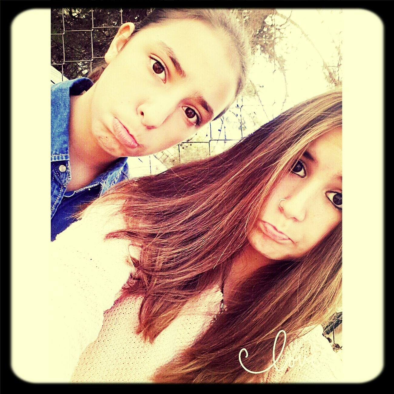 con mi adela en el recreo ♥ First Eyeem Photo