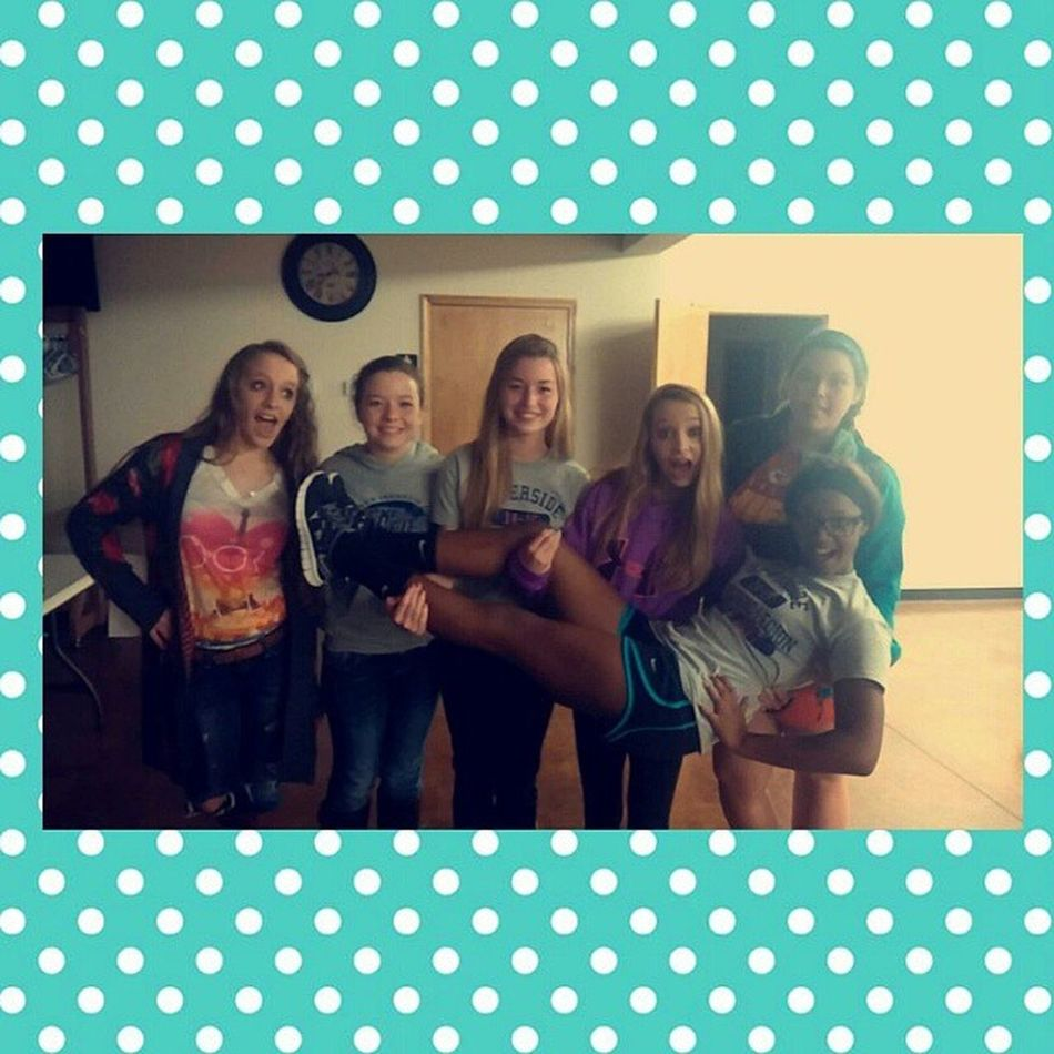So Yeah these are my Best Friends ? misusing @jordanelizabeth_00 @__kaitlyn_rose__ and a few more ? Youthgroup TooCuteForYou💋