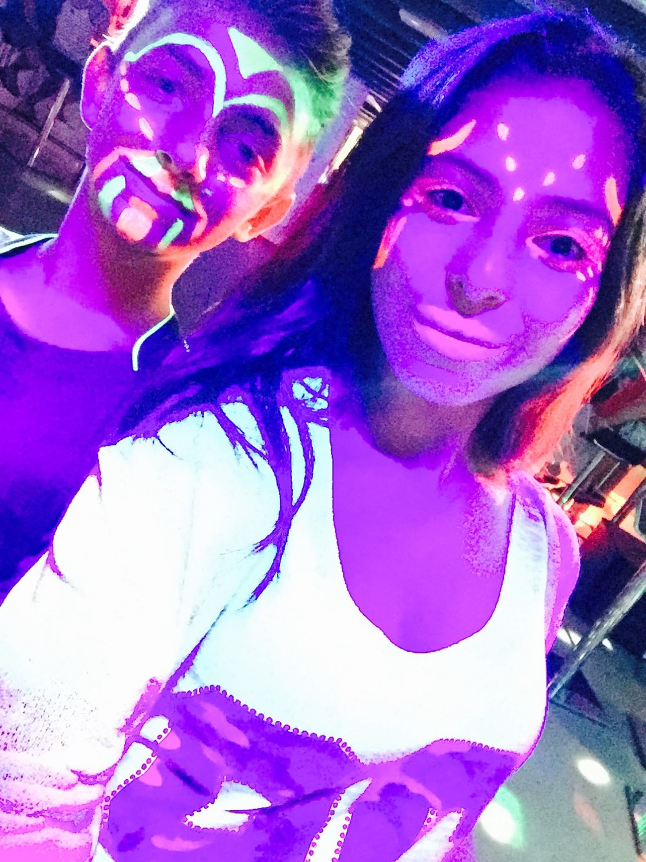 Fluo  Party Neon Dance Fete Love Cool Fashionista Night Lights Music