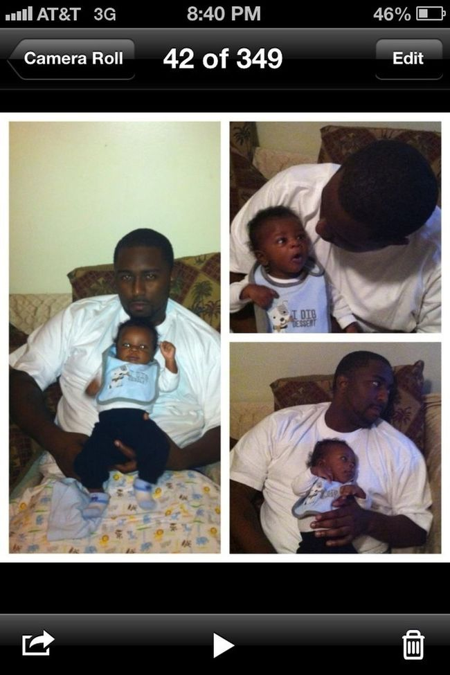Unbreakable Bond....Father And Son Moment