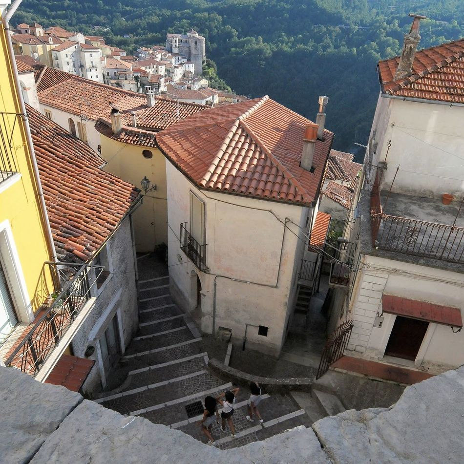 Rivello, Italian landscape High Angle View Architecture Built Structure Architecture And Art Landscape_Collection Travel Photography Urban Landscape Landscape Landscape_captures Urbanphotography Travel Architecture Cityscape Lifestyles Travel Destinations Real People Tourism Calabriadascoprire Miles Away