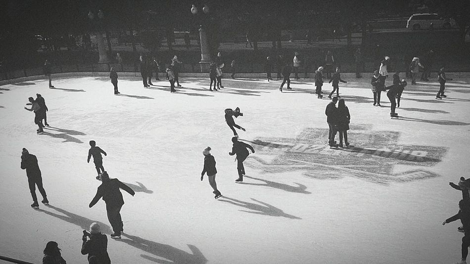 • Skating Winter Sport Cold Temperature Winter Large Group Of People Lifestyles Leisure Activity Ice Rink Outdoors Snow Ice Day Nature People Figure Skating Blackandwhite Photography B&w Blackandwhite Vintage Photography Entwined Souls Universe Hopeful City Thoughts And Musings •