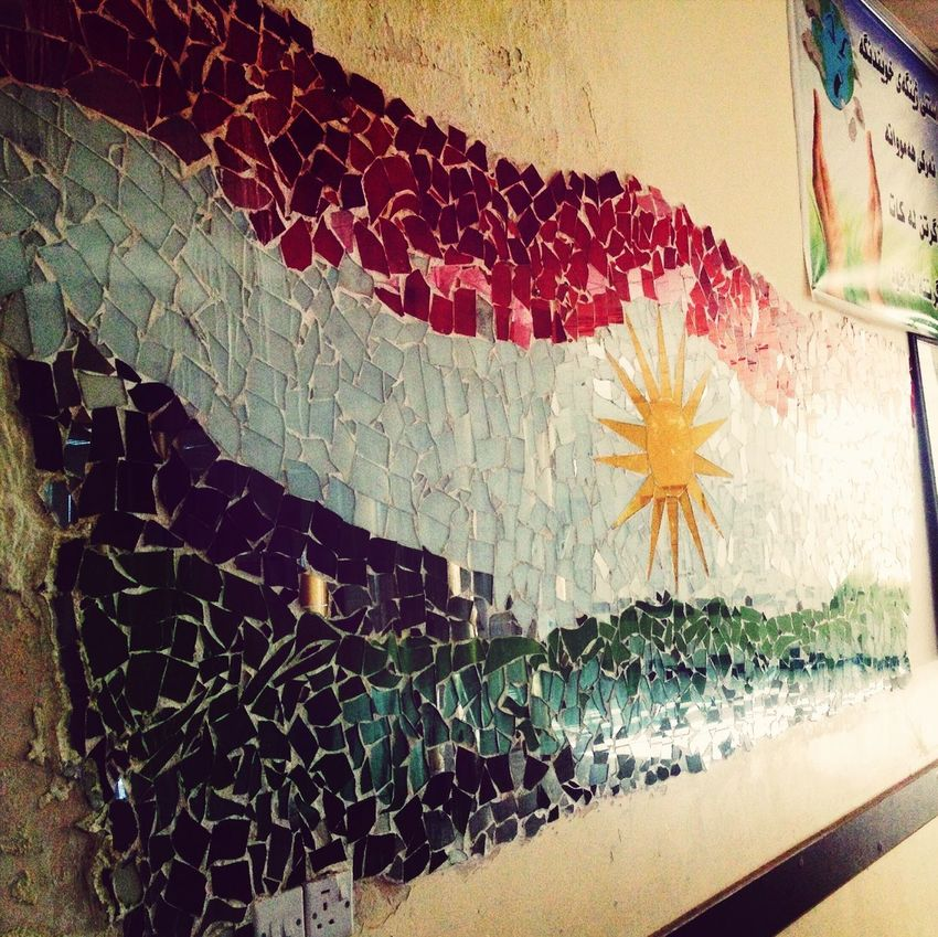 The EyeEm Facebook Cover Challenge Danaz Primary School Kdv Kurdish Flag Kurdistan Getting Creative Peshmarga Proud Untold Stories