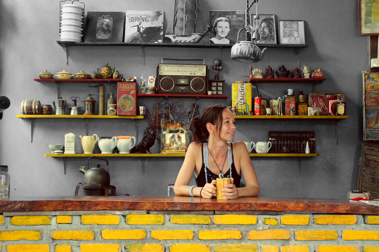 Beautiful stock photos of kitchen, Architecture, Brick Wall, Built Structure, Day