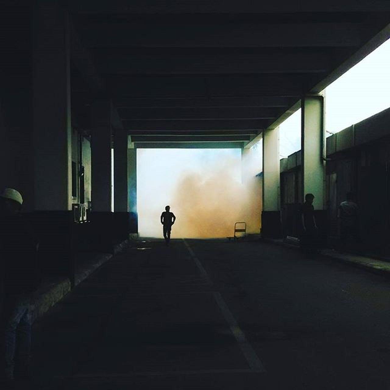 Dark Invasion Invasion Show Case: Febrary Urbanshot Fog Morningshot Silhouettes Suddenlyshot Streetphotography Lighandshadow