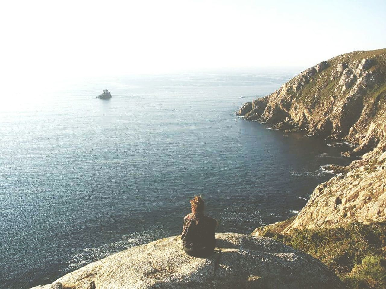 Galicia Galicia, Spain Endoftheworld Endoftheday Endoftheroad CaminodeSantiago Caminofrances El Camino De Santiago Camino De Santiago Ocean Ocean View Ocean❤ Rest Sunset Camino Alone Spain♥ EyeEm Spain