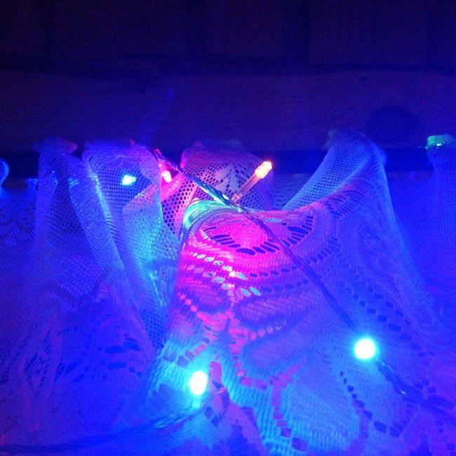 Blue Pink Lights Gerland