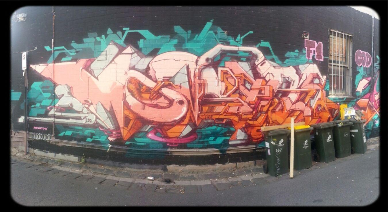 Streetart Wildstyle Dem189 F1crew