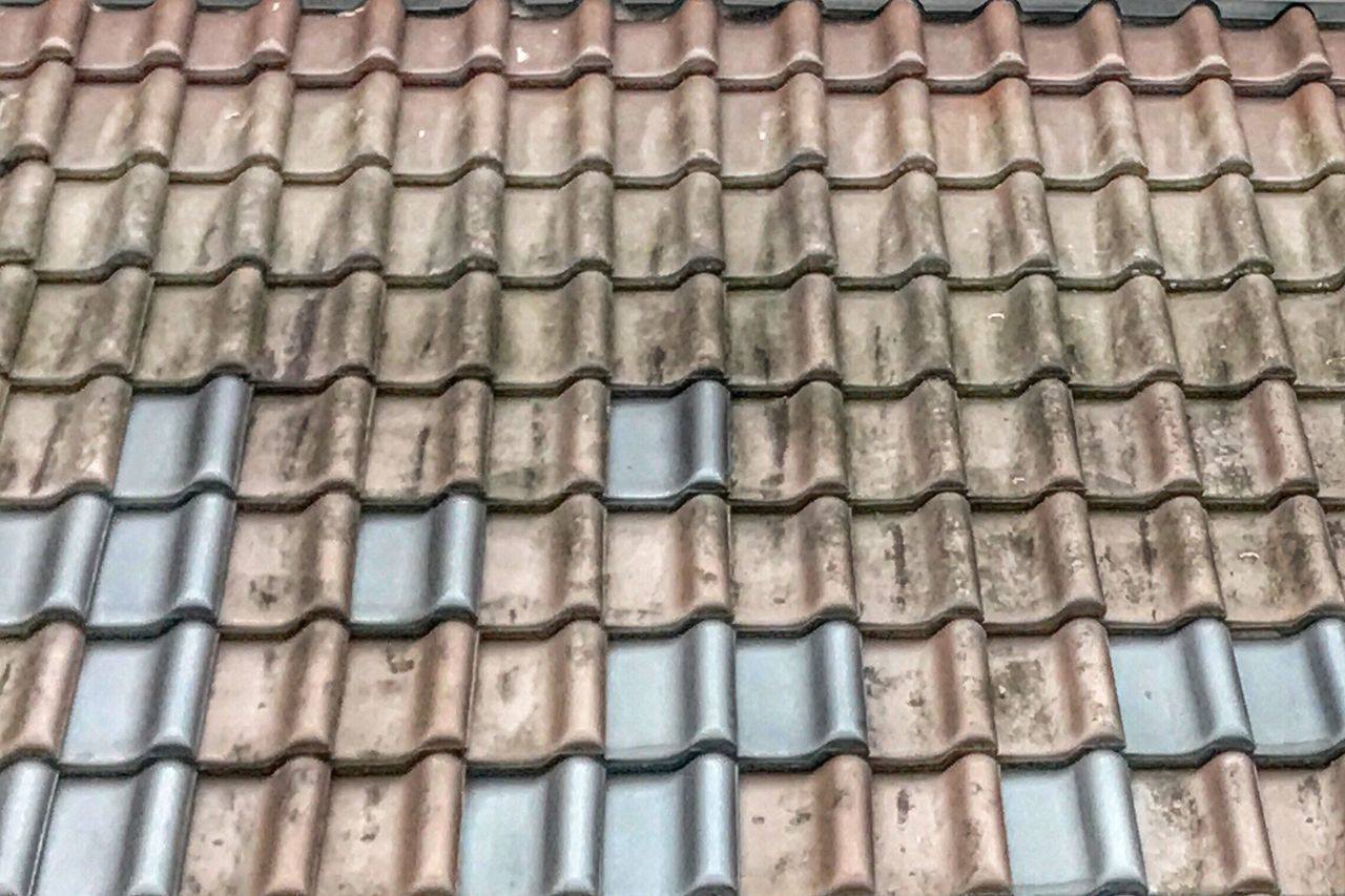 Roof Shingles Architecture Backgrounds Roof Tile Repetition Close-up Roof Pattern Building Exterior