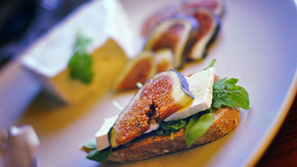 Lunch Ready-to-eat Lunch Time! Cheese Camembert Figs