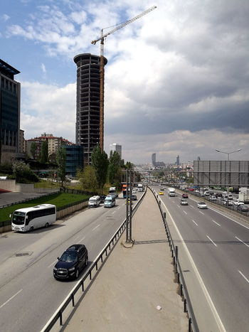 Scyscraper at the motorway in Istanbul in Turkey Architecture ASIA Building Exterior Built Structure Car City Cityscape Cloud Cloud - Sky Day Erenköy Istanbul Land Vehicle Mode Of Transport Motorway Art Orient Outdoors Road Sahrayicedit Sky Skyscraper Street Transportation Turkey Weather