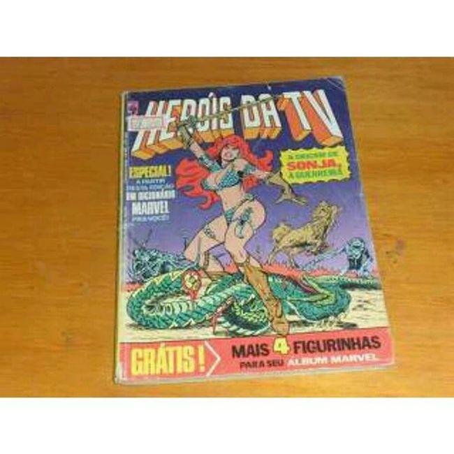 Heróis da TV- A Origem de Sonja Heroisdatv Redsonja Quadrinhos Shedevilwithasword sonjaaguerreira quadrinhosclássicos comics editoraabril