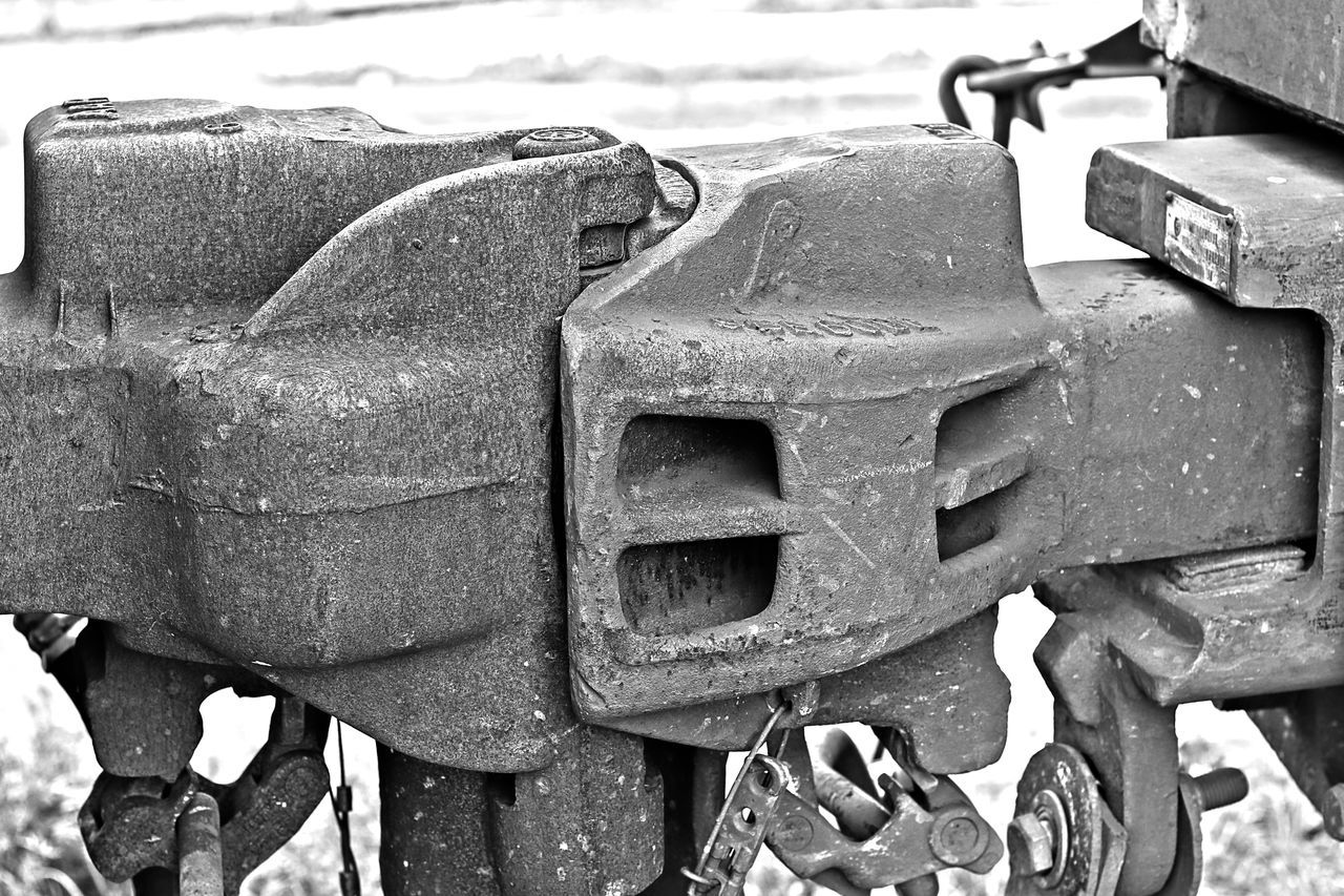 Abandoned Army Blackandwhite Photography Close-up Day EyeEm Gallery Metal No People Outdoors Rusty Steam Train Weathered