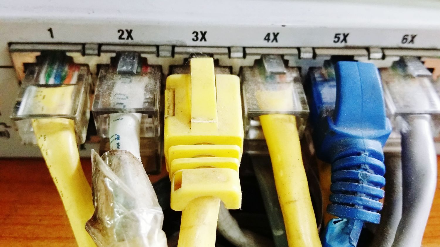 Precision Networking RJ45 Cables Cabling Switch