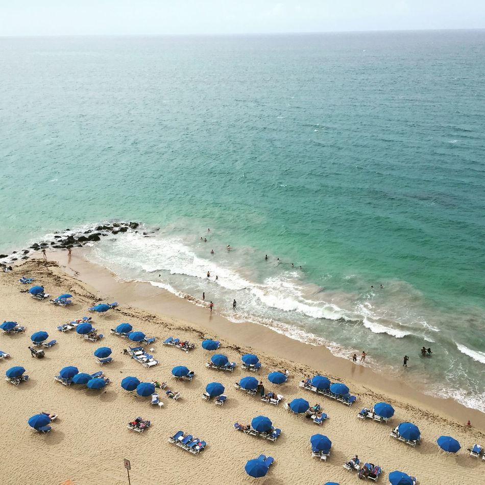 Beautiful stock photos of puerto rico, Beach, Blue, Calm, Canopy