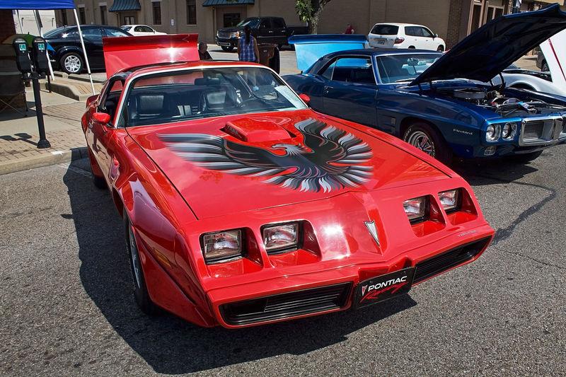Old Car Car Show Transam
