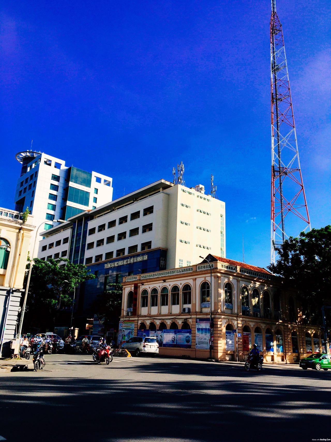 Colour Of Life Outdoors Lifestyles Viet Nam Sky Blue USSH
