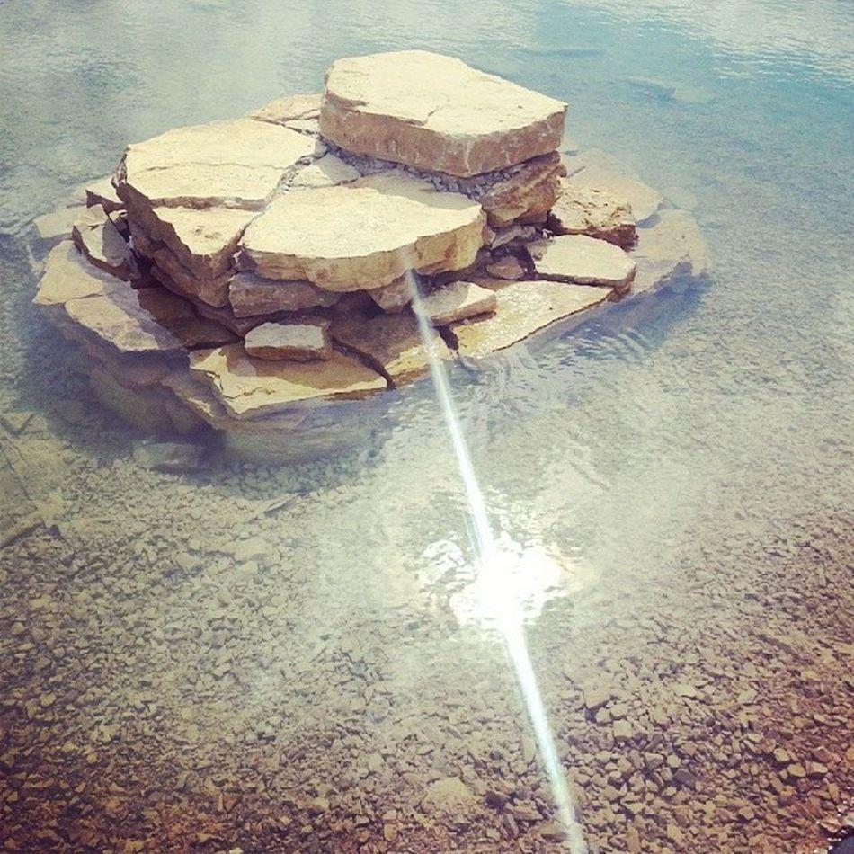 Geostrefa Jaworzno Poland City parkwater stone sun