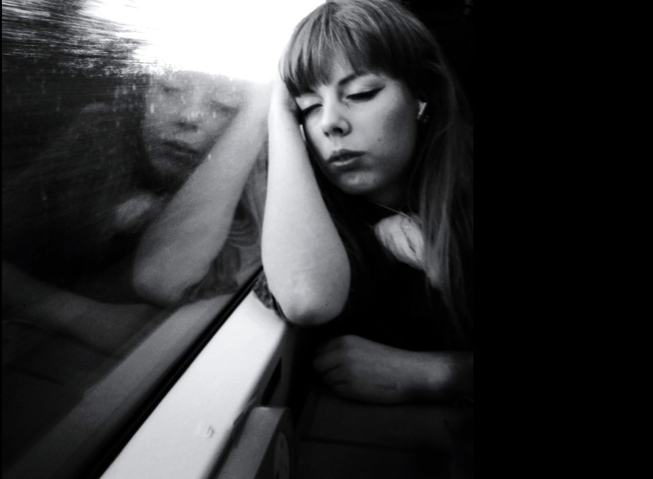 Monochrome Shootermag Blackandwhite Eye4photography  Eyeforphotography Mono Portrait Beauty Sleeping
