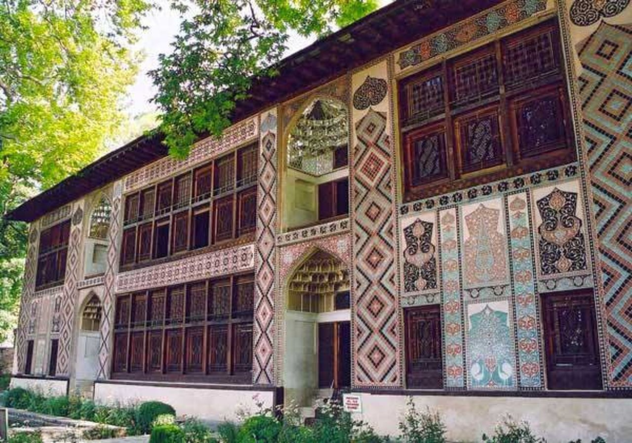 2016 Arcitecture Azerbaycan Beautifully Organized History Museum  Khanpalace Nature Sheki