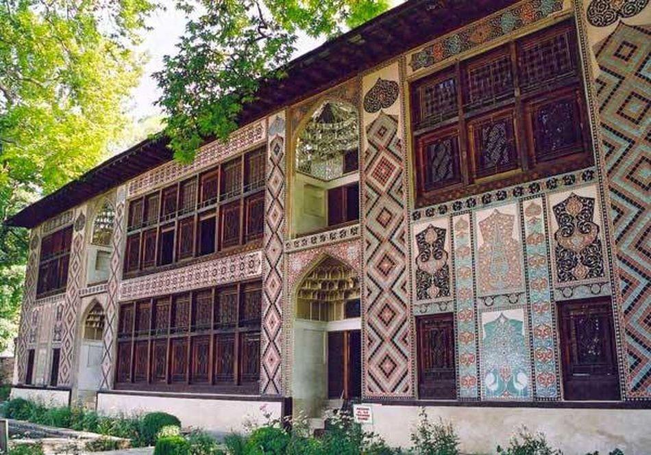 2016 Arcitecture Azerbaycan Beautifully Organized History Museum  Khanpalace Nature Sheki