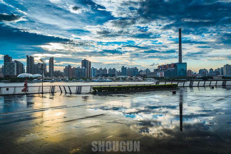 Architecture City Cityscape Cloud - Sky No People Reflection Sky Skyscraper Urban Skyline Water