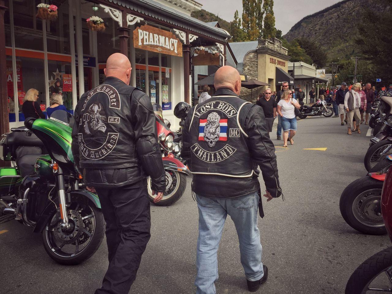 Bikers Brotherhood Men Street HarleyDavidsonMotorcycles Gang Leather Jacket Patches Motorcycles