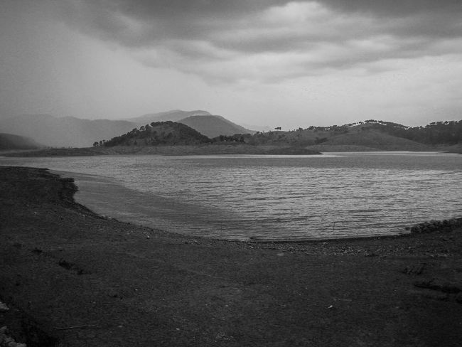 Lull before the storm. Beautiful Beauty In Nature Beauty In Nature Black And White Landscape Cloud - Sky Day Gloomy Hi Hills Landscape Lull Mountain Nature No People Outdoors Ox Bow Lake River Riverbank Scenery Scenics Serene Serenity Sky Tranquil Scene Water