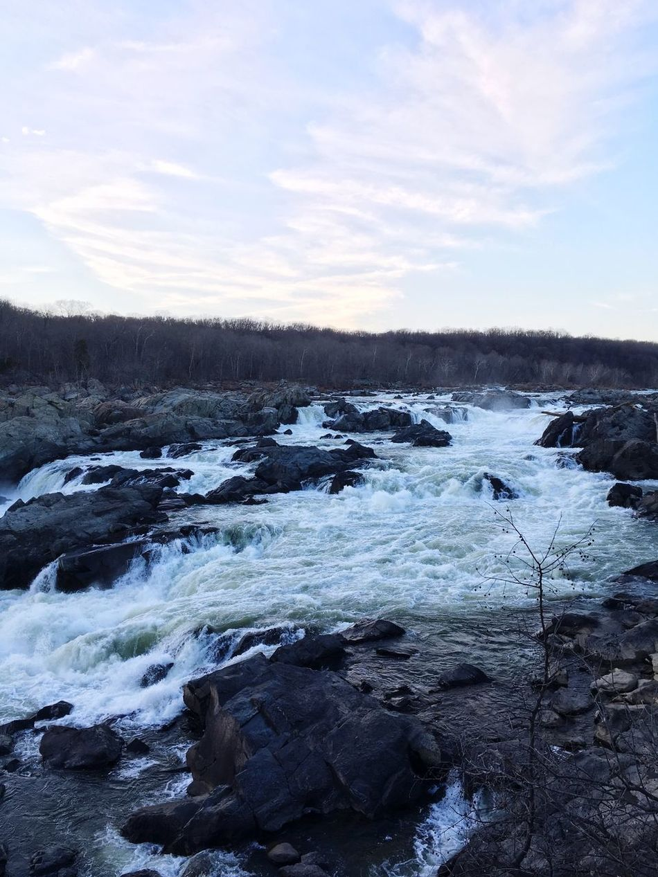 Nature Cold Temperature Ice Beauty In Nature Tranquility Water Great Falls National Park River First Eyeem Photo Tranquil Scene Nature_collection Nature Photography Naturelovers Nature On Your Doorstep Nature_perfection Naturephotography