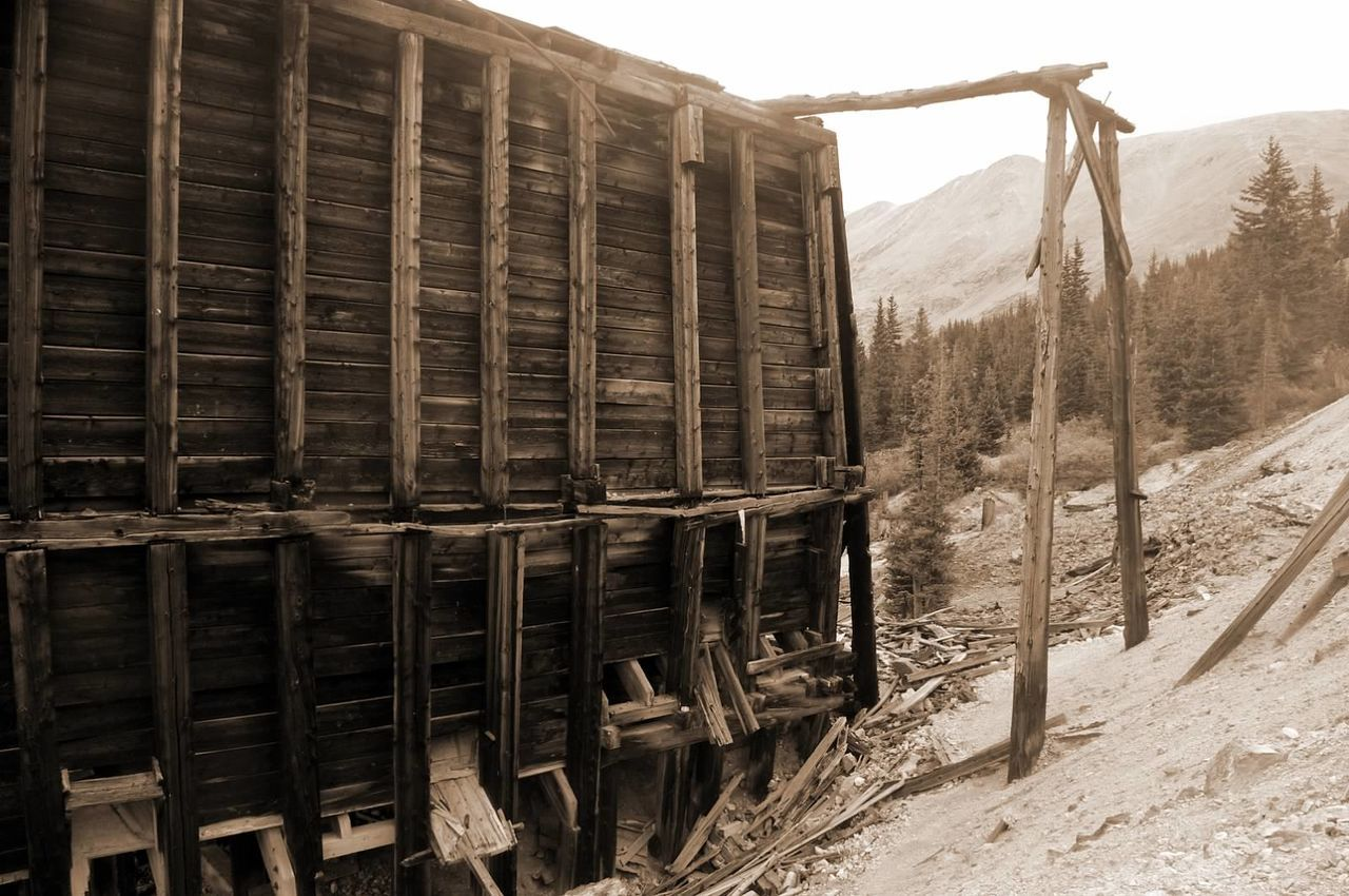 Abandoned Built Structure Mining History Of America Mining Heritage Colorado Photography Colorado Ghosttowns Mining