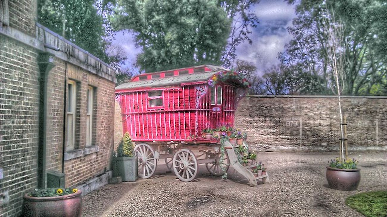 Old gypsy caravan Gypsy Holkham Hdr Edit HDR Collection