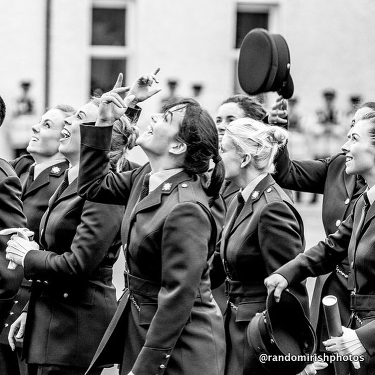 Collected Community that hat throwing moment when you have just graduated . . . Randomirishphotos  Eye4black&white  Ireland Eyeem Ireland