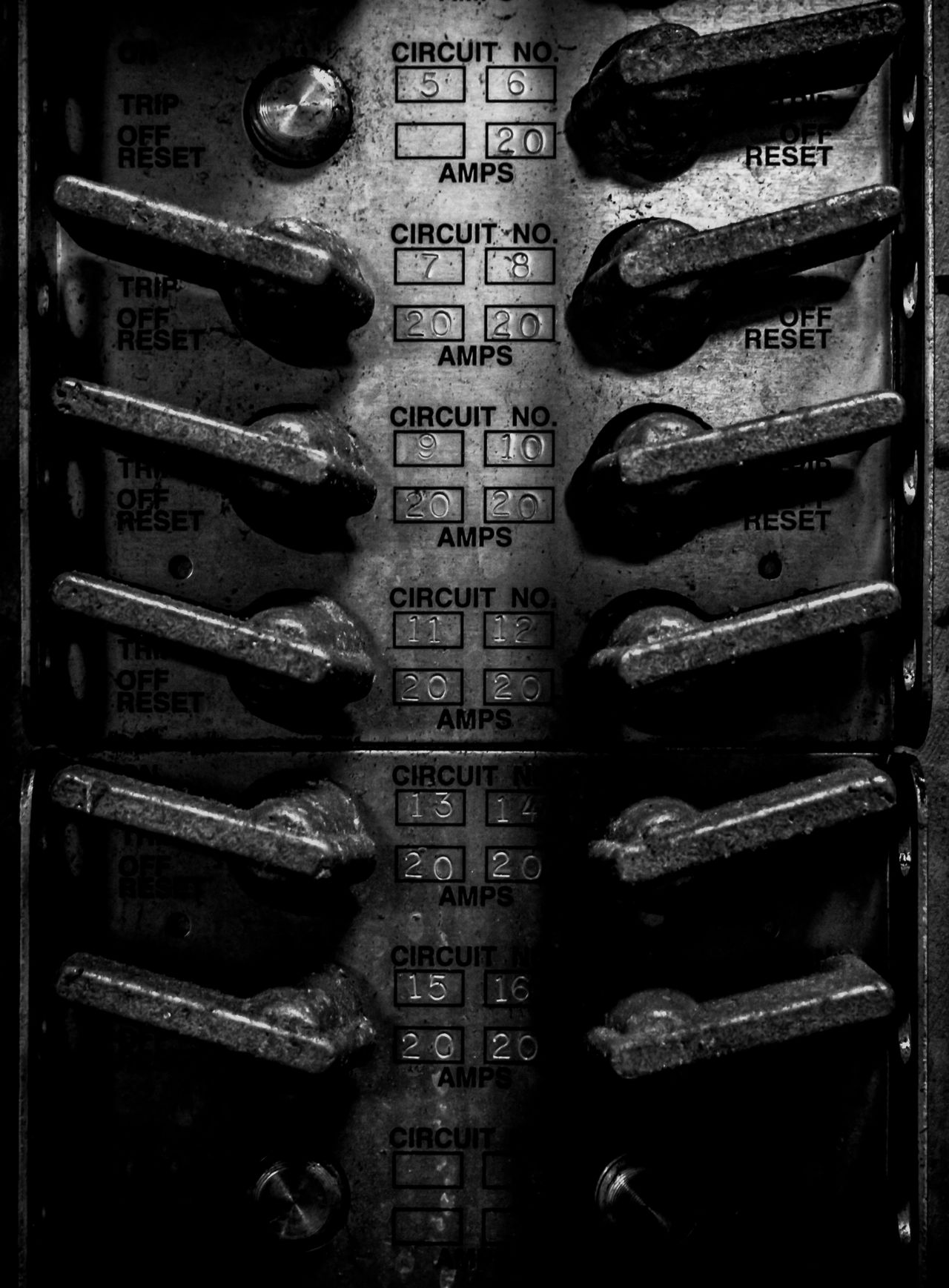 Industrial Circuit Breakers Black & White Black And White Black And White Photography Blackandwhite Blackandwhite Photography Circuit Breaker Close-up Fine Art Fine Art Photography Fineart_photobw Gages Greyscale Gritty Indoors  James Aiken James Aiken Photography Metal Monochromatic Monochrome Monochrome Photography No People Numbers Repeating Patterns Repetition Switches